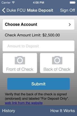 Duke Credit Union i-Mobile screenshot 4