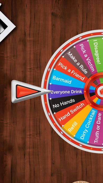 Party Games: Drinking Wheel Screenshot