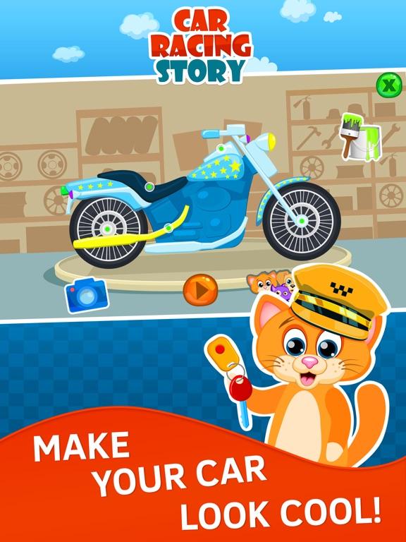 captura de pantalla del ipad juegos de coches para nios de aos gratis