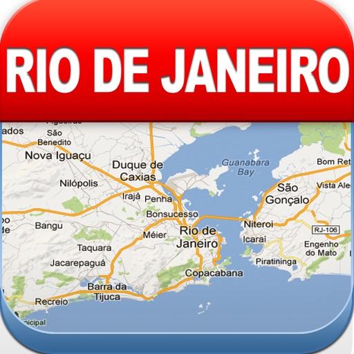 里约热内卢离线地图 – 城市 地铁 机场