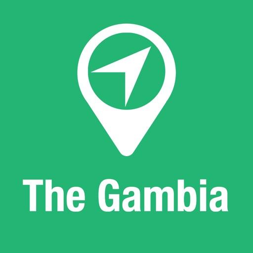 BigGuide Gambia Mappa + Guida Turistica Completa e Navigatore Vocale Offline