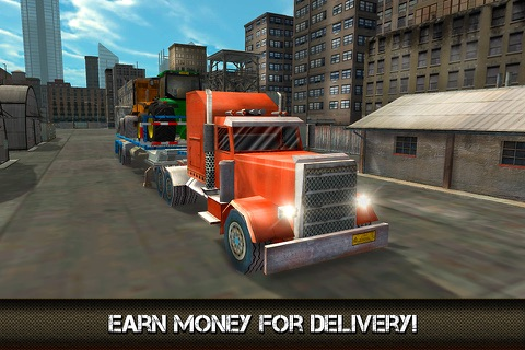Great American Cargo Trucks: Driving Sim 3D Full screenshot 2