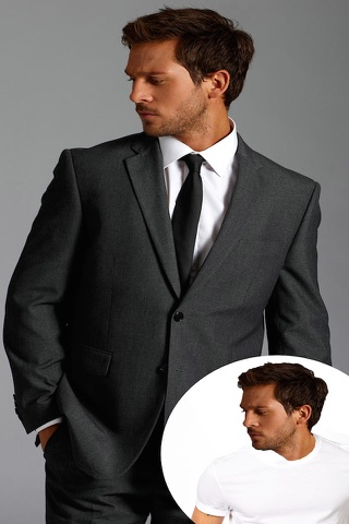Man Fashion Suit Photo Montage screenshot 2