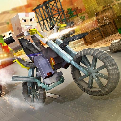 course de mini motocyclette avec armes jeu de moto pixel pour enfants pro par fernando baro. Black Bedroom Furniture Sets. Home Design Ideas