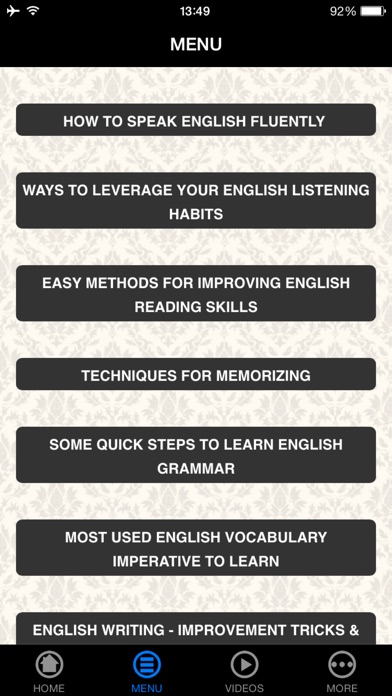 download A+ Learn How To Speak English Fluently - Beginner's Guide! apps 2