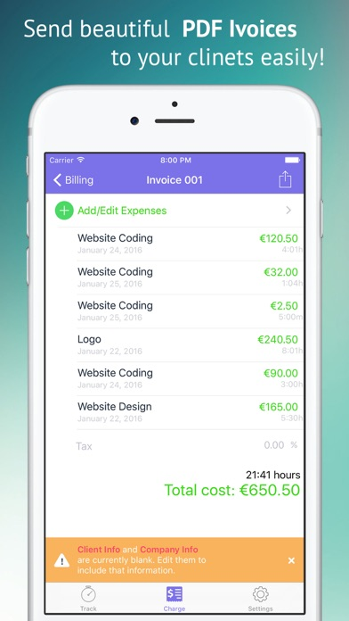 Rent Receipts Online Word Freely  Project  Time Tracking  Pdf Invoicing For Freelancers  Invoice Template Download Free Excel with Web Based Invoice Software Excel Iphone Screenshot  How To Get Cash Back Without A Receipt Word