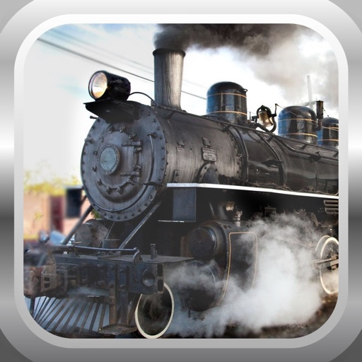 Steam Train Driving Simulator 3D iOS App