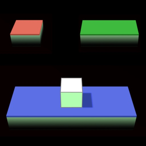 Кубик - прыгун. 3D платформы / Cube Jump. 3D platforms