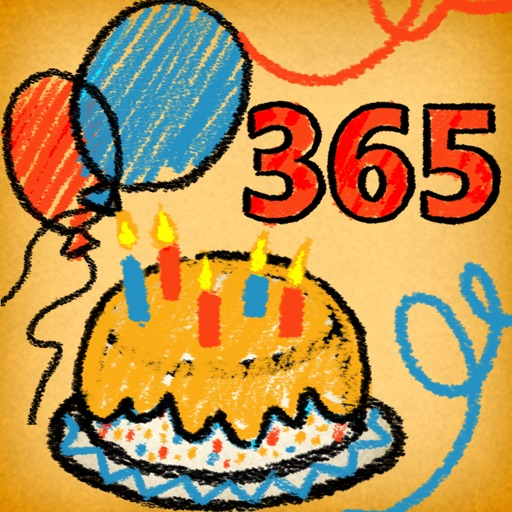 Countdown 365 FREE App - Birthday, Holiday & Events Reminder iOS App