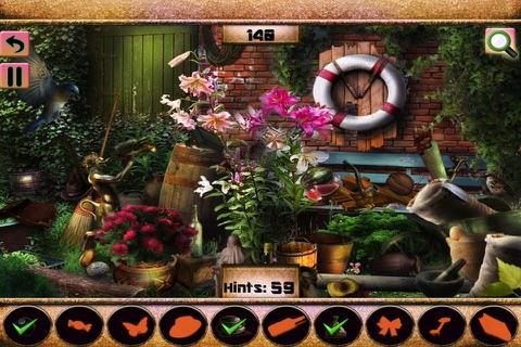 Hidden Objects The Sun Garden screenshot 1