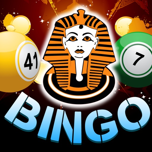 Gold Bingo Casino of Pharaohs with Keno Mania and Prize Wheel Fun! iOS App