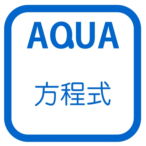 "Application of The Equation in ""AQUA"" iOS App"