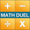 Math Duel - Two Player Split Screen Mathematical Game for Kids and Adults Training - Addition, Subtraction, Multiplication and Division!