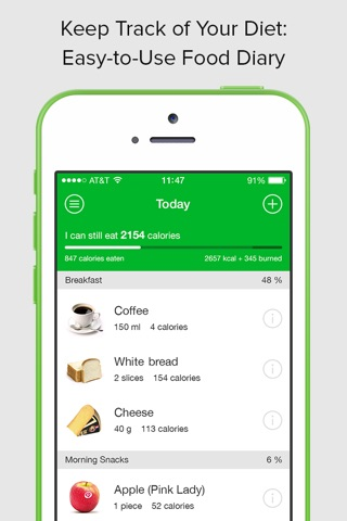 download calorie carb fat counter app for iphone and ipad