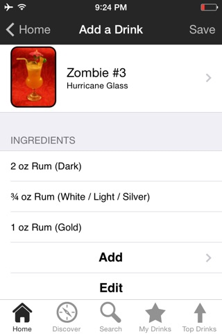 iBartender Drink & Cocktail Recipes screenshot 2