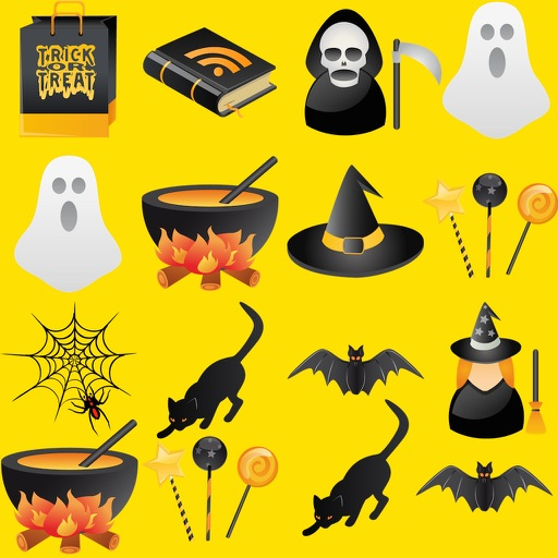 Halloween Iconz iOS App