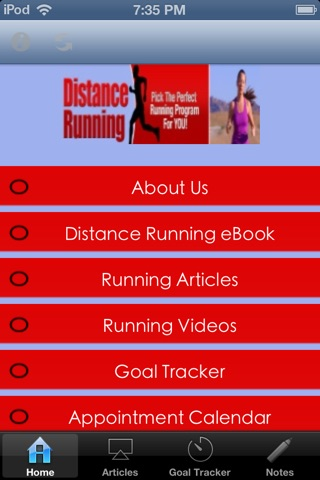 Distance Running - Pick the Perfect Running Program For You screenshot 1