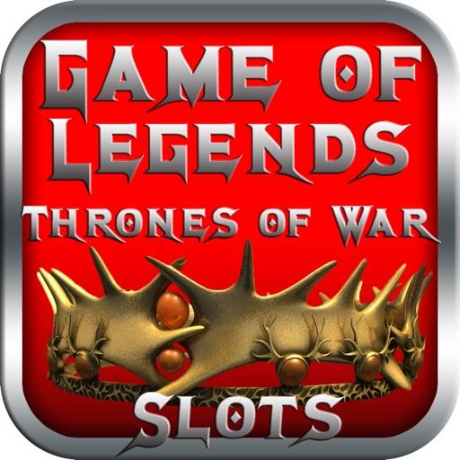Game of Legends- Thrones of War Slots iOS App