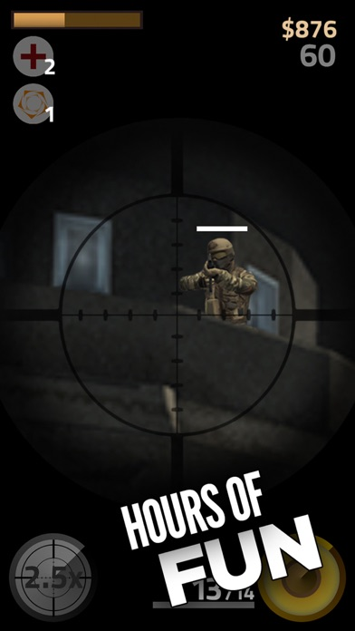 Contract Sniper Killer - Trigger guns and shoot to kill army assassin shooter screenshot four
