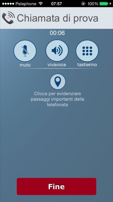 Screenshot of Registrazione di chiamate - IntCall2
