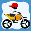 Doodle Moto HD-Free Racing Games for All Kids Adult on iPad iPhone