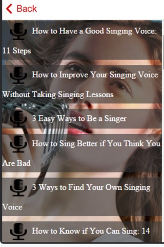 Singing Course - How to Improve Your Singing Voice screenshot 2
