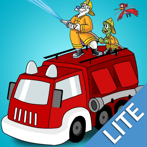 Firefighters, Fire Trucks & Fire Safety Lite: Videos & Games for Kids by The Danger Rangers iOS App