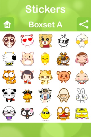 Stickers for Facebook Messenger, WeChat, Viber & WhatsApp...etc screenshot 4