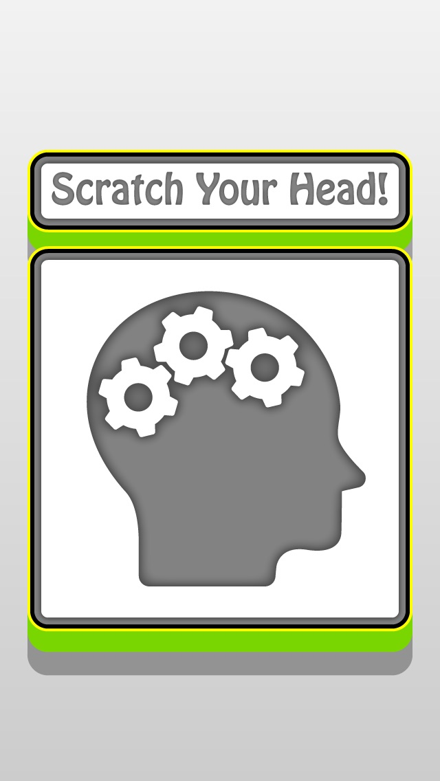 download Scratch Your Head : Free Funny Mega Puzzle Game for home and classroom apps 3