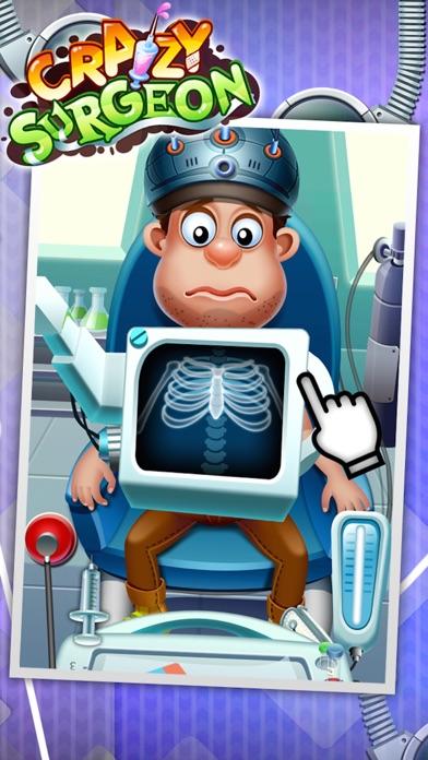 クレイジー外科医 - カジュアルゲームのおすすめ画像1