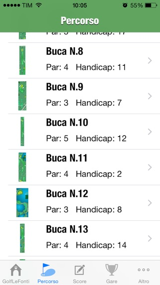 Screenshot of Golf Del Ducato La Rocca3
