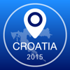 Croatia Offline Map + City Guide Navigator, Attractions and Transports