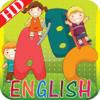 Kids Learn English ABC alphabets book HD