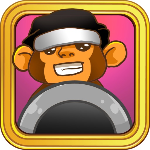 Awesome Banana Ninja HD iOS App