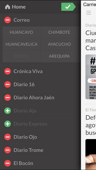 Peridicos Pe review screenshots