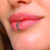 Lip Piercing Booth - The Oral Piercing App to add Lip Bites Rings on your Cute Upper and Lower Lips