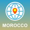 Marrocos Mapa - Offline Map, POI, GPS, Directions