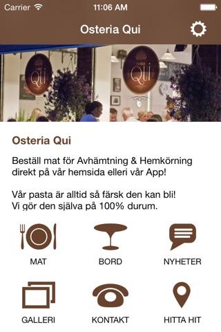 Osteria Qui screenshot 2