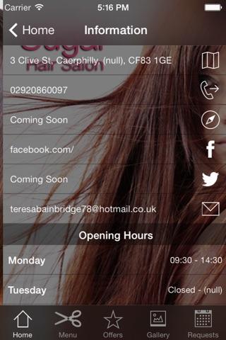 Sugar Hair Salon screenshot 3