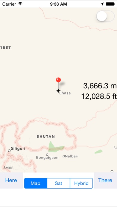 Map Altimeter On The App Store - Altimeter map