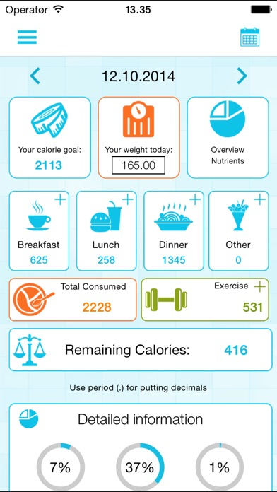 download Calorie Counter and Weight Loss Watcher apps 0