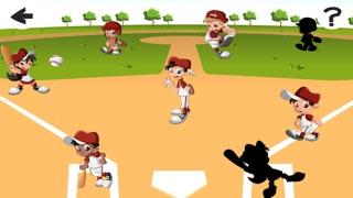 Screenshot of Una Partita di Baseball For Baby & Kids: Colouring Book & Puzzle Difficile Per i Bambini di Età da5