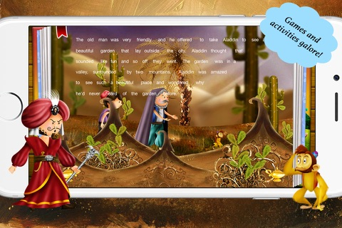 Aladdin and the Magical Lamp by Story Time for Kids screenshot 1