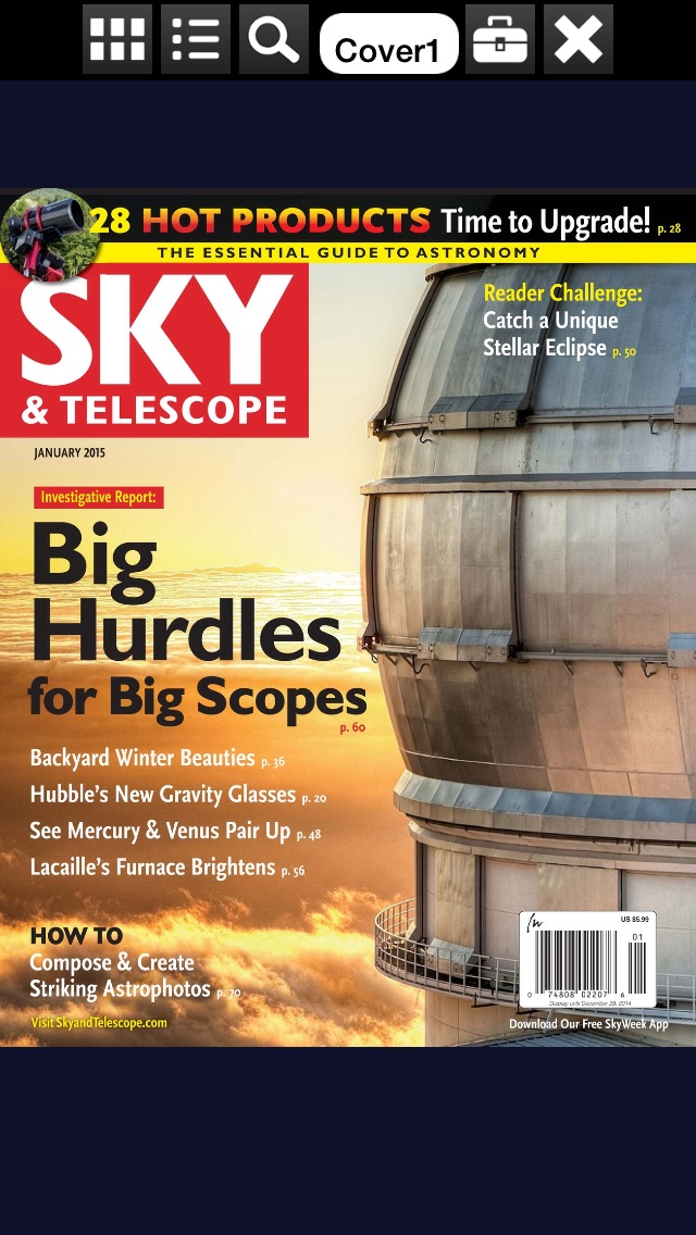 Sky Telescope Magazine review screenshots
