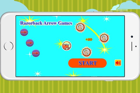 Razorback arrow action game free screenshot 1