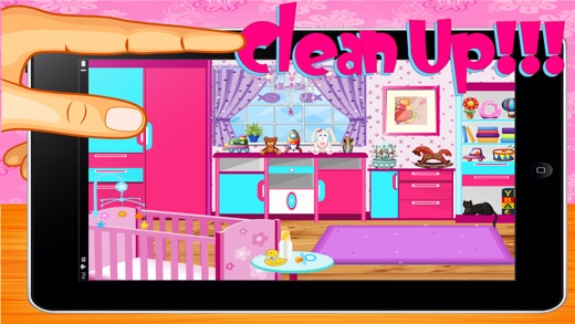 Baby Room Cleaning Game on the App Store