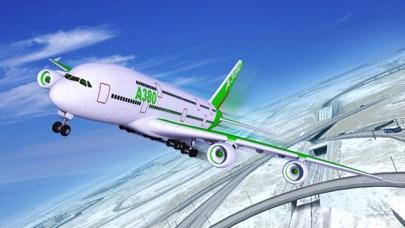 Screenshot #1 pour Snow Cargo Jet Landing 3D