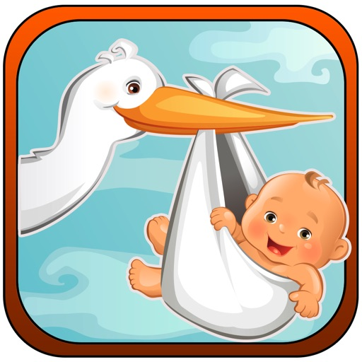 Cute Angel Baby Fly Home - Casual Falling Games for Girls iOS App