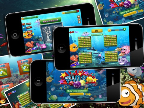 Shark Bingo Party Pro - The Submerged Bingo Bash Partying with the Shark-s!-ipad-0