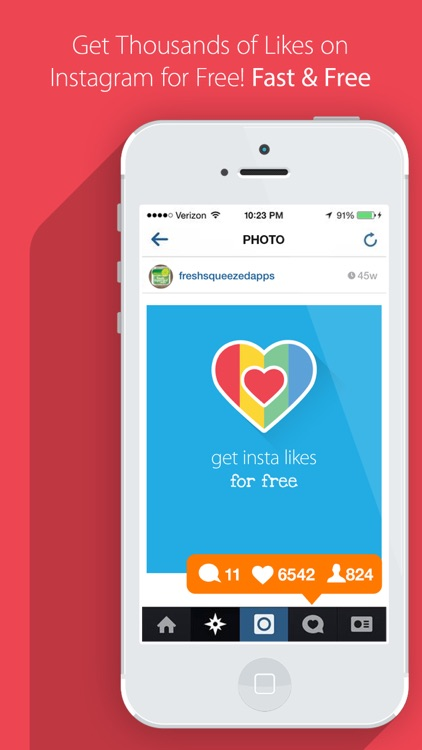 Get Insta Likes for Instagram - Gain 1000 to 5000 More Like